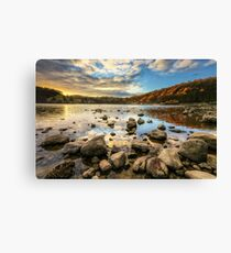 Ullswater at Sunset Canvas Print