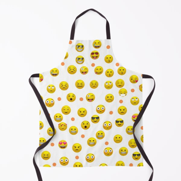 Emoji Pattern Abstract Design Gifts Apron