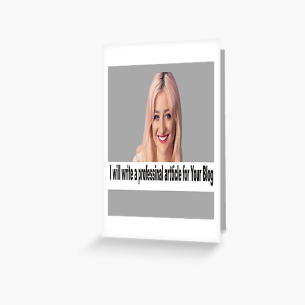 freenlancing advertisement  Greeting Card