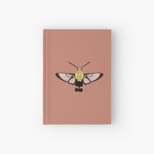Snowberry Clearwing Hardcover Journal