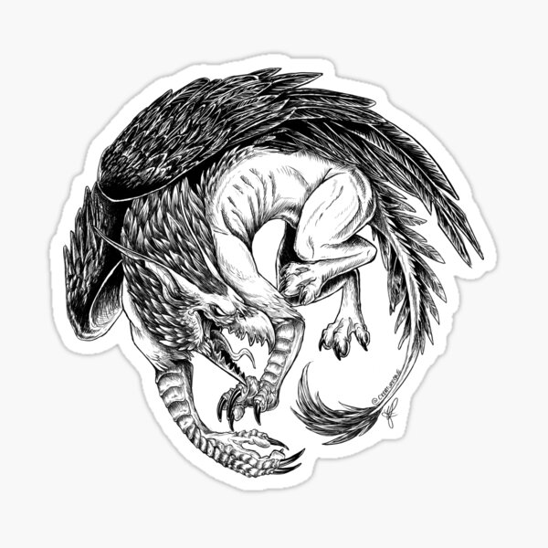 The Gryphon Sticker