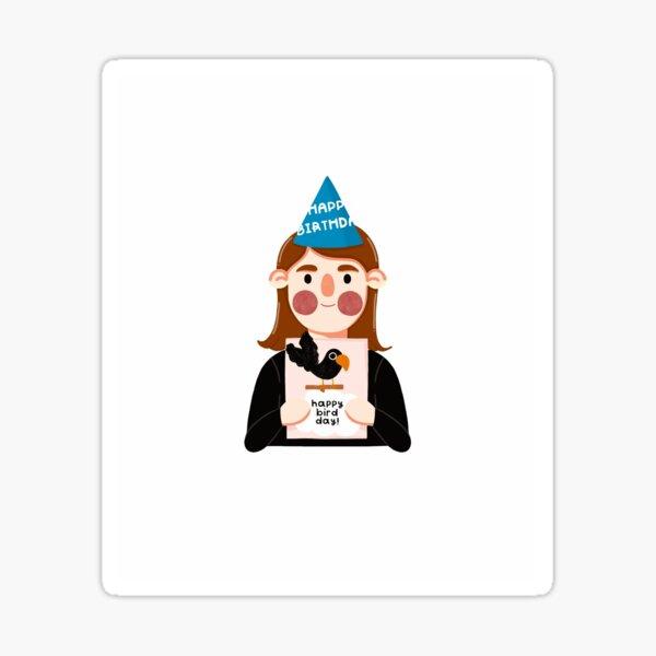 "Meredith Palmer - The Office ""Bird Day"" Sticker"