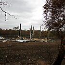 Bushfire Seaton Vic – Photo taken on 23 January 2013 by Emmy Silvius