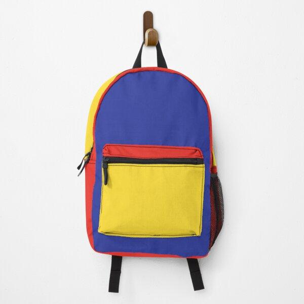 Color Block Backpack: Toy Shop Backpack