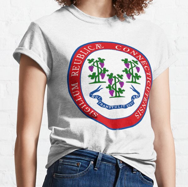 Connecticut State Seal Re-Imagined Classic T-Shirt