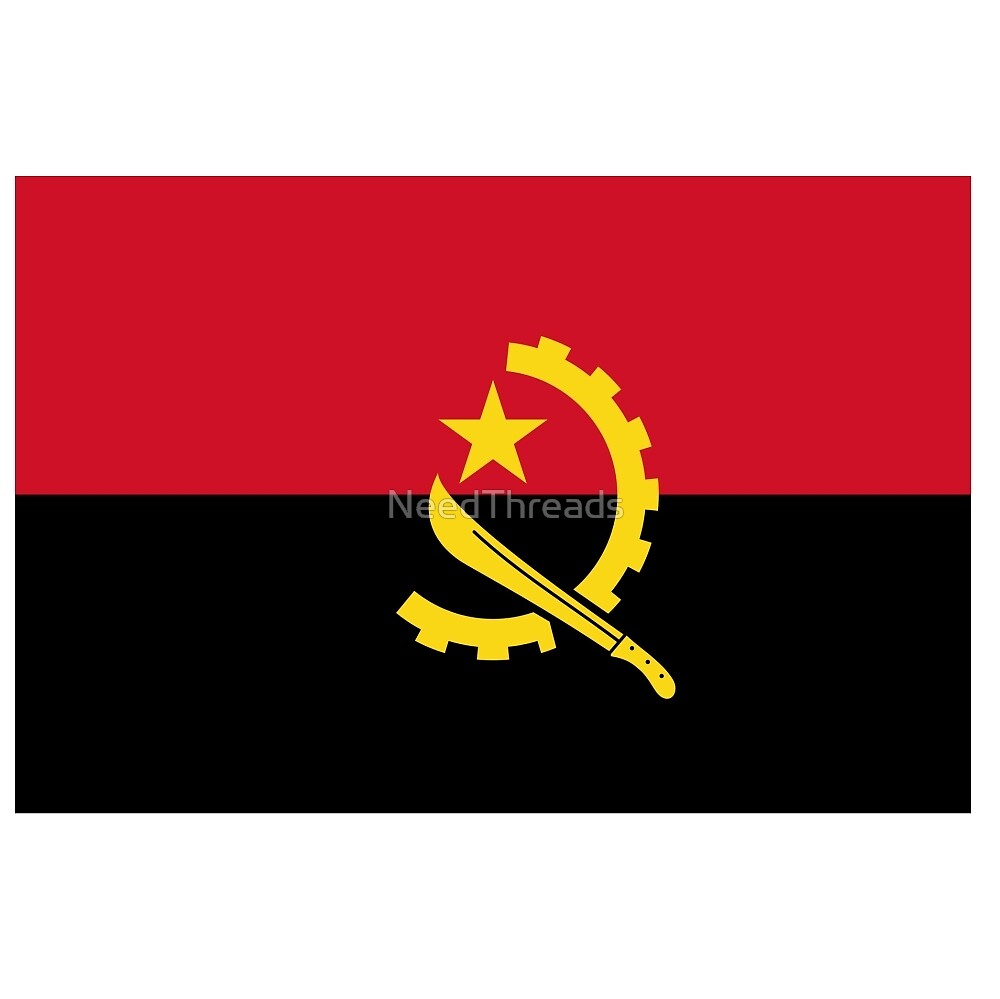 Angola Flag by NeedThreads