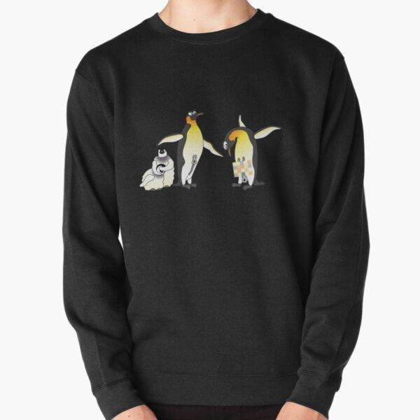 Eddie The Penguin Pullover Sweatshirt