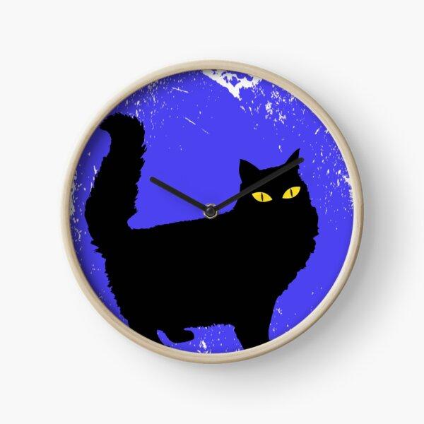 Love cat Clock