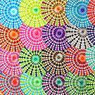 Mirrored Spirograph Artwork by RachelEDesigns