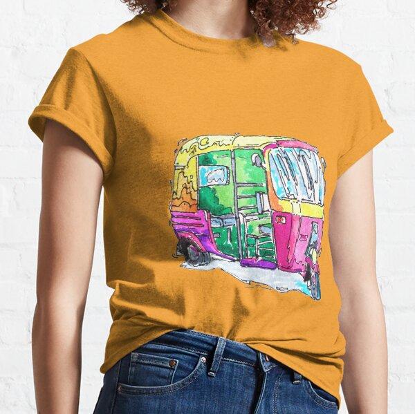Tuk Tuk Purple Auto Rickshaw Classic T-Shirt