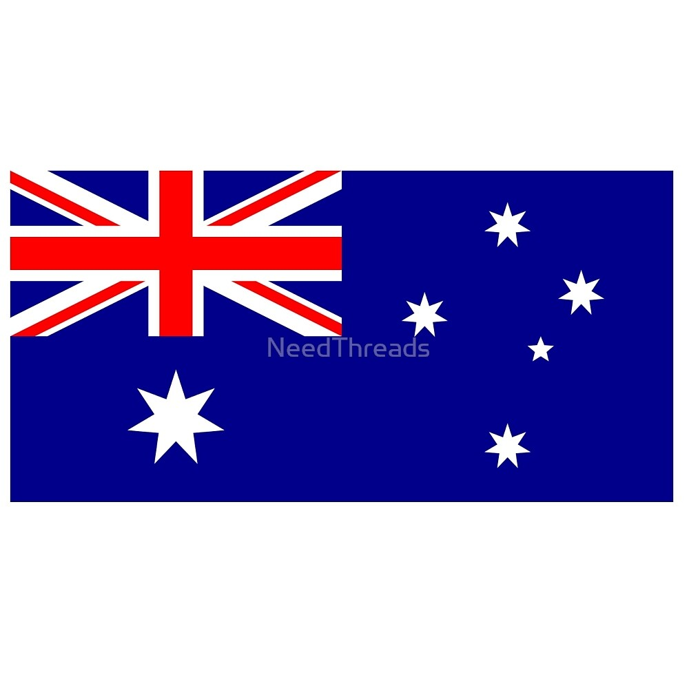 Australia Flag by NeedThreads
