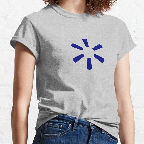 Azul oscuro Walmart Spark Camiseta clásica