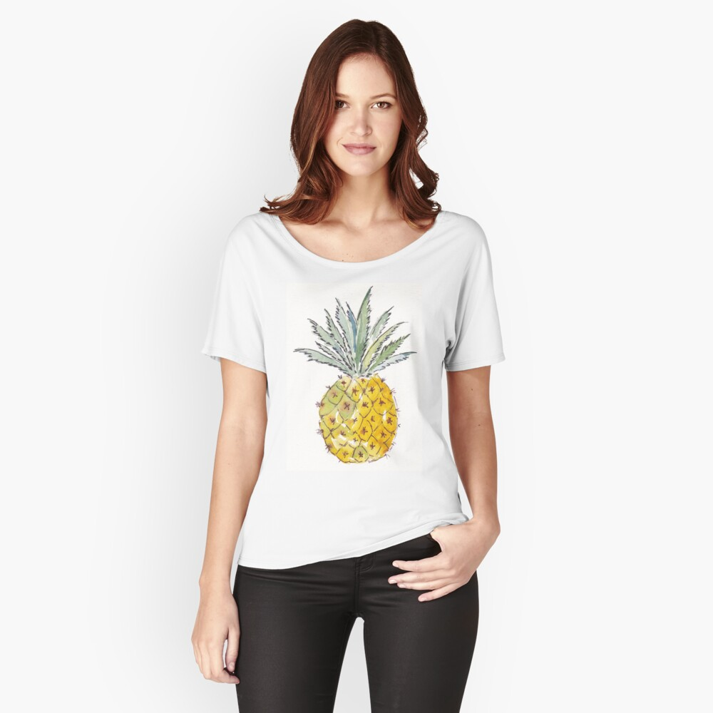 Pineapple pleasure Women's Relaxed Fit T-Shirt Front