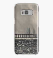 Snow Storm Out at Sea. Samsung Galaxy Case/Skin