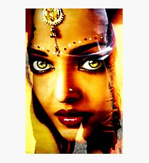 India Ink Photographic Print