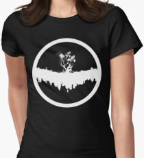 Urban Faun - White on Black T-Shirt