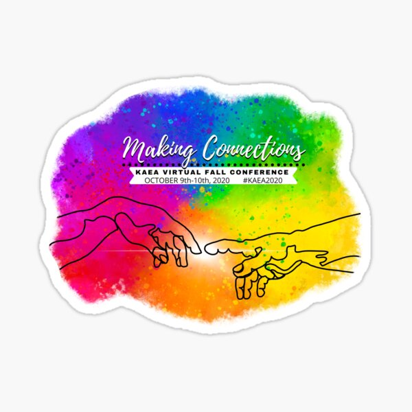 Making Connections Virtual Conference Sticker