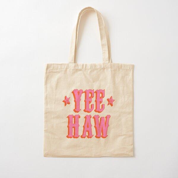 Yee Haw Cotton Tote Bag