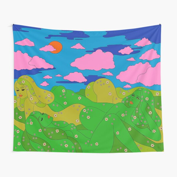 Miss Mountains Tapestry