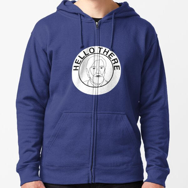 Hello There Zipped Hoodie