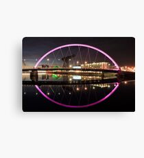 Glasgow Clyde Arc Canvas Print