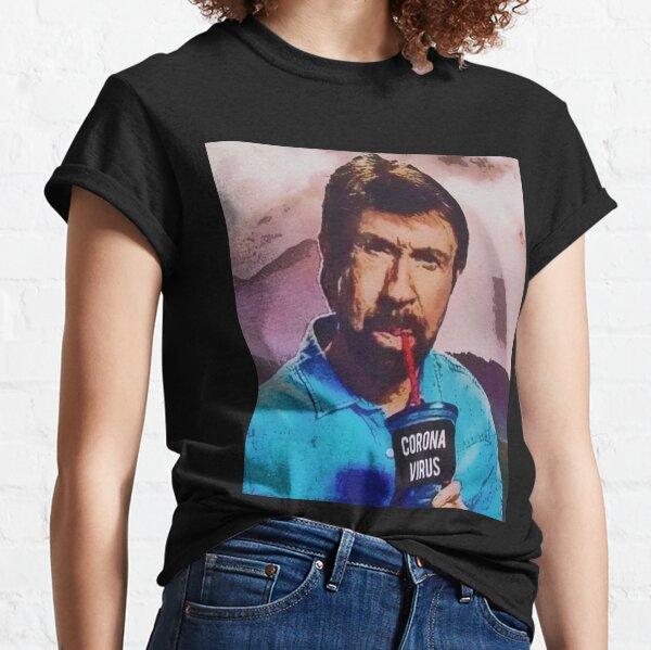 Chuck Norris trinkt Coronavirus Classic T-Shirt