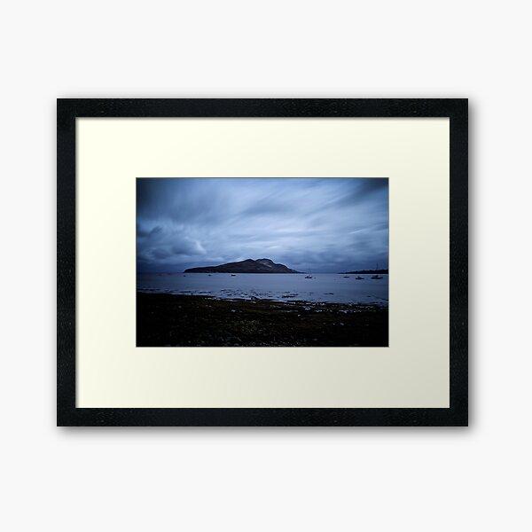 Holy Isle Arran Framed Art Print
