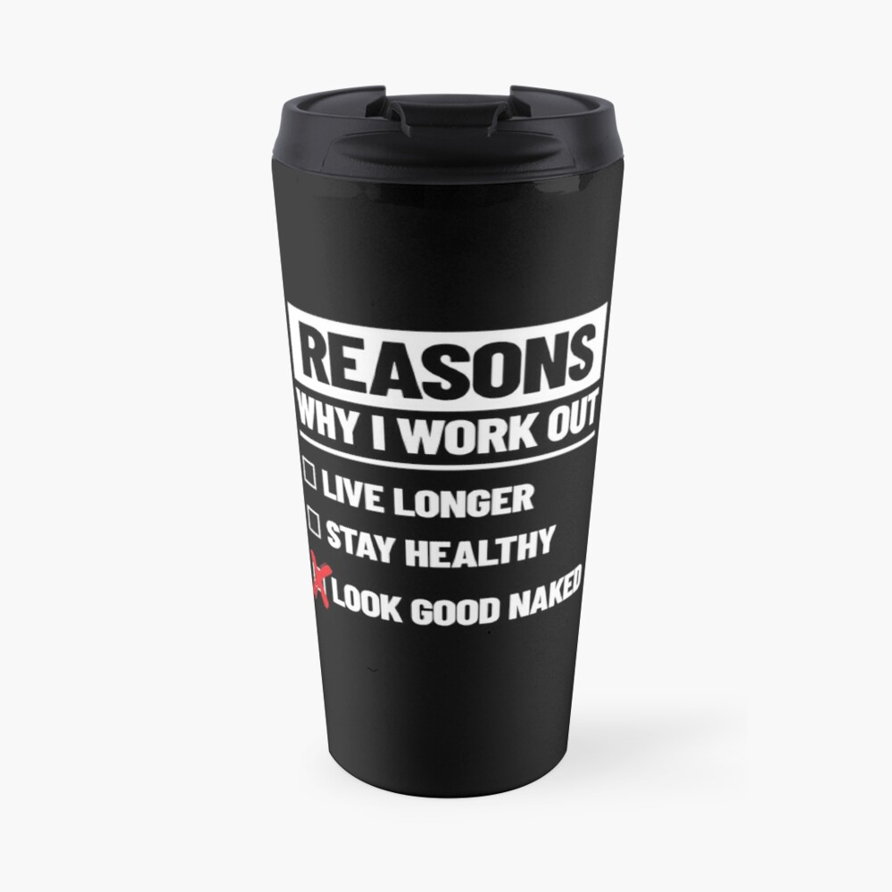 Personal Trainer Fitness Gift - Health Coach - Funny Workout Travel Mug