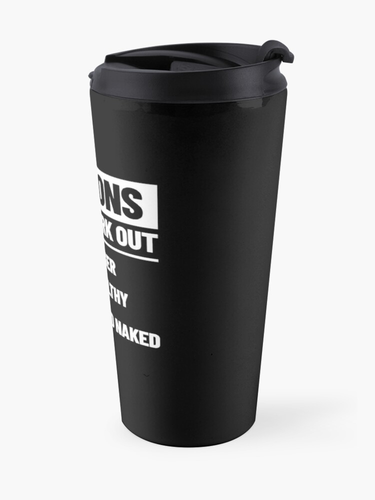 Alternate view of Personal Trainer Fitness Gift - Health Coach - Funny Workout Travel Mug