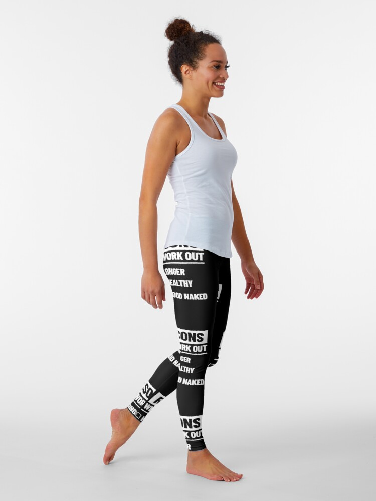 Alternate view of Personal Trainer Fitness Gift - Health Coach - Funny Workout Leggings