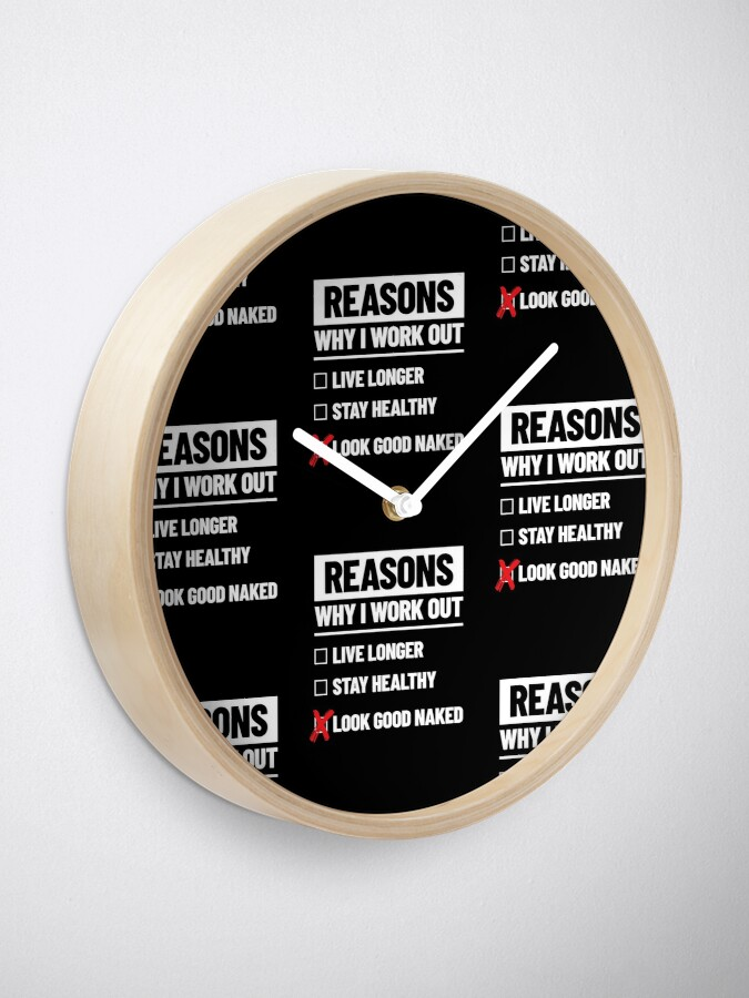 Alternate view of Personal Trainer Fitness Gift - Health Coach - Funny Workout Clock