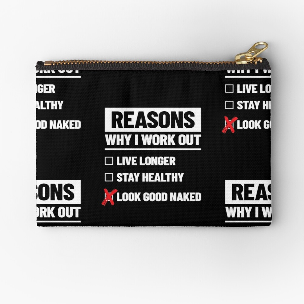 Personal Trainer Fitness Gift - Health Coach - Funny Workout Zipper Pouch