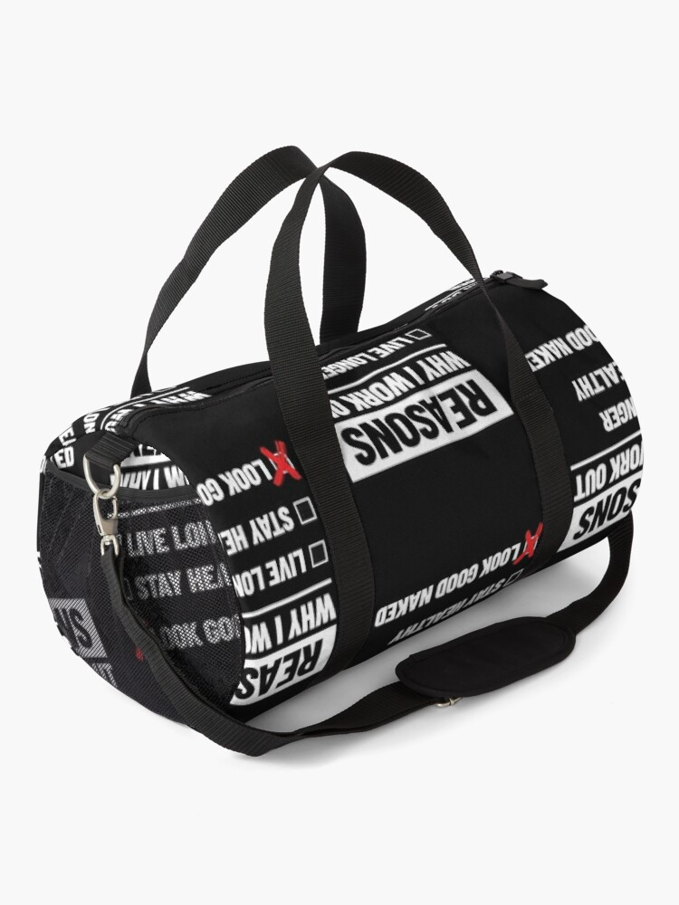 Alternate view of Personal Trainer Fitness Gift - Health Coach - Funny Workout Duffle Bag