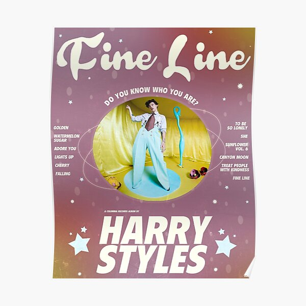 harry fine line Póster