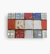 Shipping Metal Print