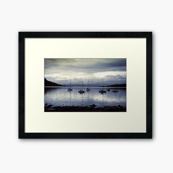 Lamlash Bay Arran Framed Art Print