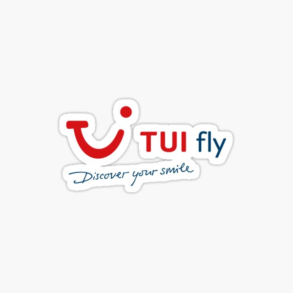 Tui Fly Discover Your Smile Sticker Sticker