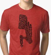 Watkins Glen Raceway Tri-blend T-Shirt