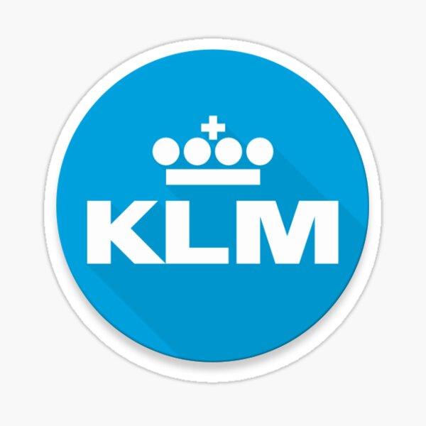 KLM sticker design Sticker
