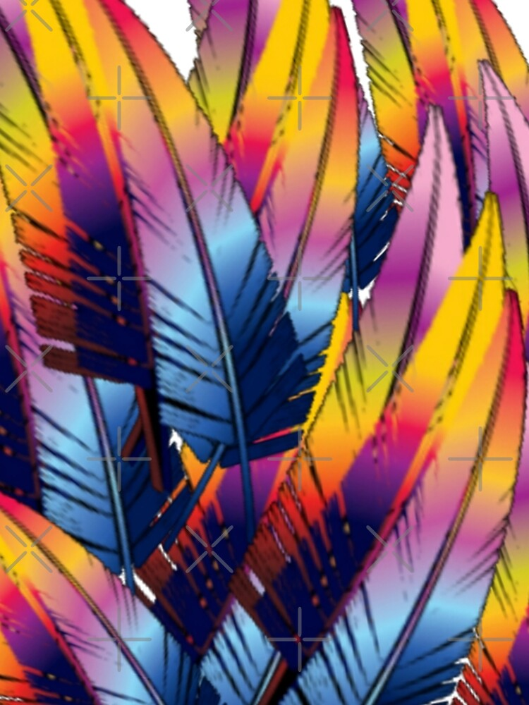 Colorful Feather by Moni3572