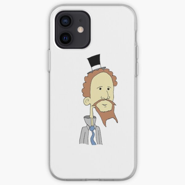 Let's Rock Charles Dickens Phone Case iPhone Soft Case