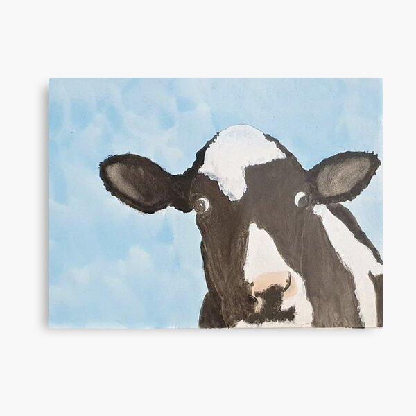 Wonky Cow Metal Print