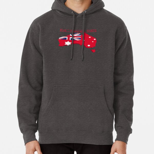 Mainland Australia Red Ensign Pullover Hoodie