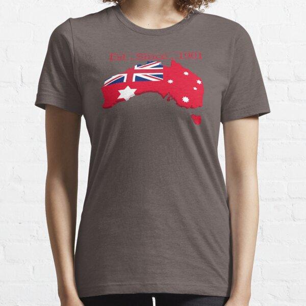 Mainland Australia Red Ensign Essential T-Shirt