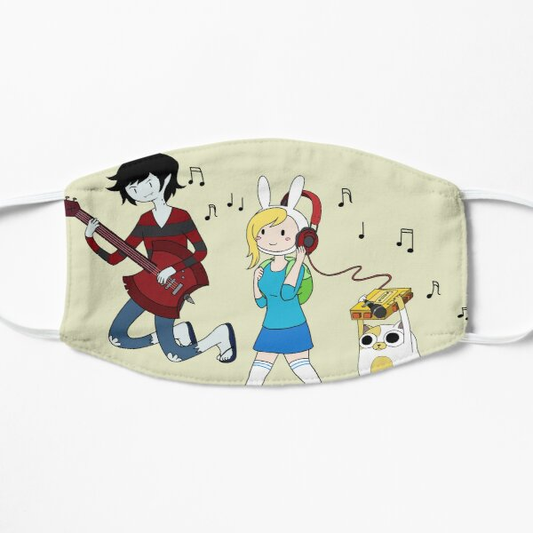 Adventure time with Marshall Lee, Fionna, and Cake Flat Mask