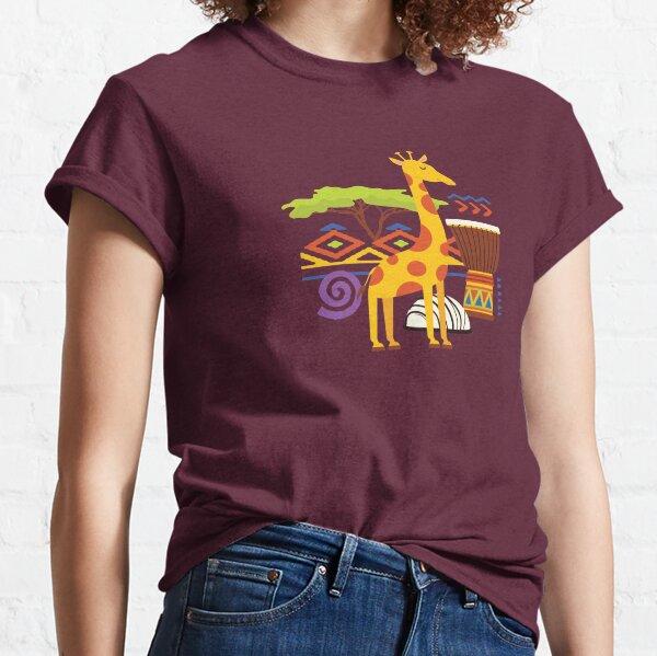 African Animal Lodge Classic T-Shirt