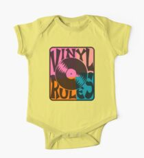 Vinyl Records Rule Pop Art Kids Clothes