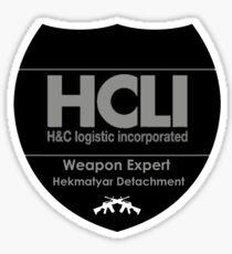 Jormungand - HCLI - Weapon Expert Sticker