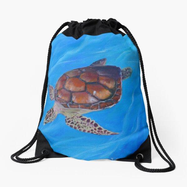 Todd Turtle Drawstring Bag