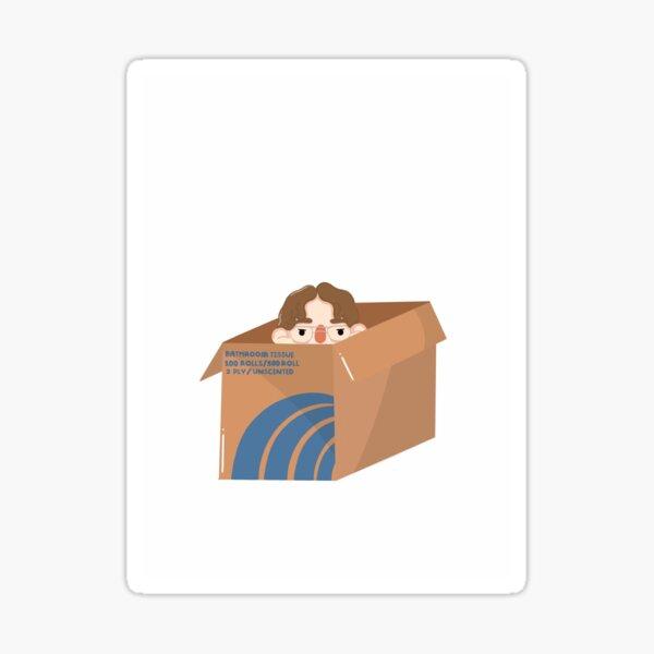 Dwight Schrute in a Box Sticker